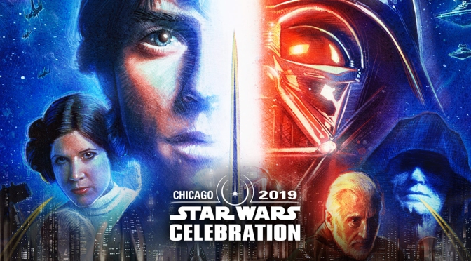 Star Wars Celebration 2019 'Official Poster' – Artist Paul Shipper Returns