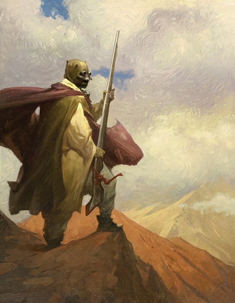Star Wars Myths and Fables - A Tusken Fable for Star Wars Galaxys Edge