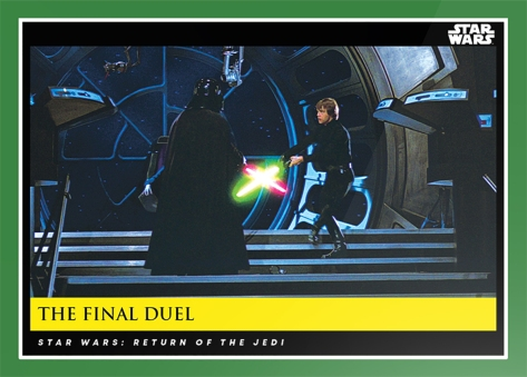 The Final Duel _ Star Wars Galactic Moments Countdown to Episode 9 The Rise of Skywalker_ Week 17 Card 50