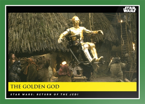 The Golden God _ Star Wars Galactic Moments Countdown to Episode 9 The Rise of Skywalker_ Week 15 Card 45