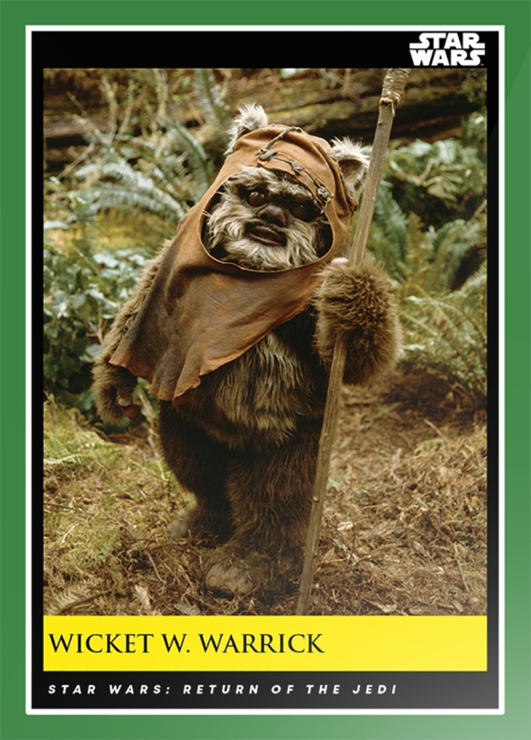 Wicket W Warrick _ Star Wars Galactic Moments Countdown to Episode 9 The Rise of Skywalker_ Week 16 Card 46