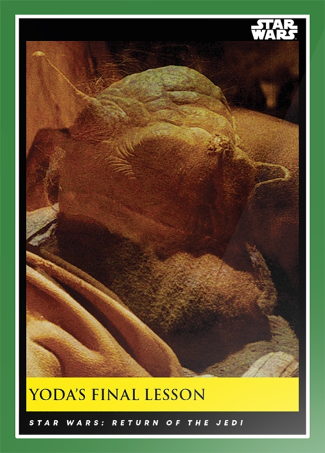 Yoda's Final Lesson _ Star Wars Galactic Moments Countdown to Episode 9 The Rise of Skywalker_ Week 14 Card 41