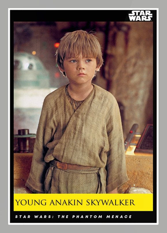 Young Anakin Skywalker _ Star Wars Galactic Moments Countdown to Episode 9 The Rise of Skywalker_ Week 23 Card 67