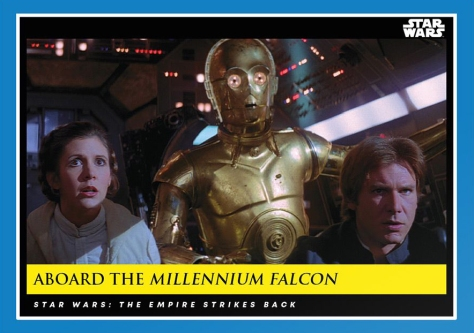 Aboard the Millennium Falcon _ Star Wars Galactic Moments Countdown to Episode 9 _ Week 8 Card 24