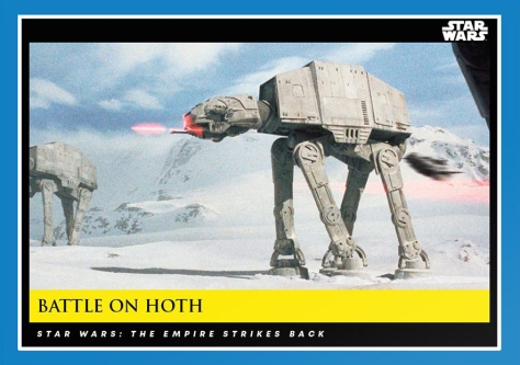 Battle on Hoth _ Star Wars Galactic Moments Countdown to Episode 9 _ Week 7 Card 21