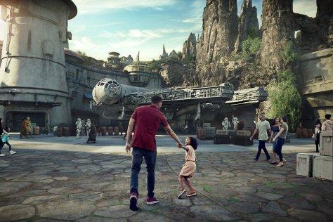 Black Spire Outpost at Star Wars Galaxy's Edge