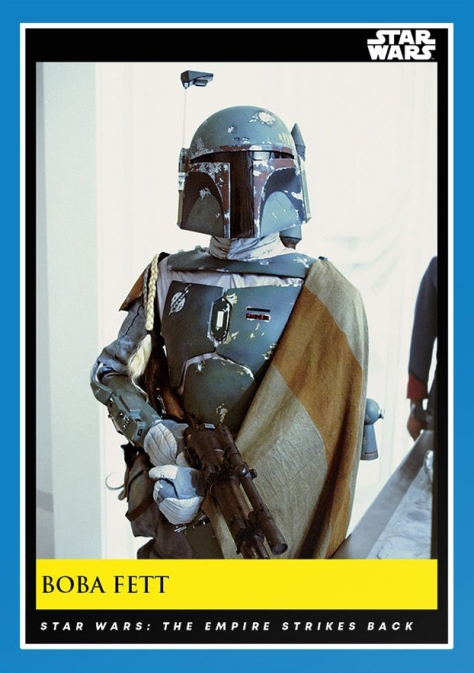 Boba Fett _ Star Wars Galactic Moments Countdown to Episode 9 _ Week 8 Card 22