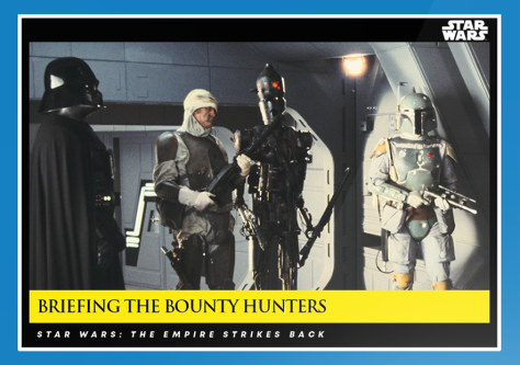 Briefing the Bounty Hunters _ Star Wars Galactic Moments Countdown to Episode 9 _ Week 10 Card 30