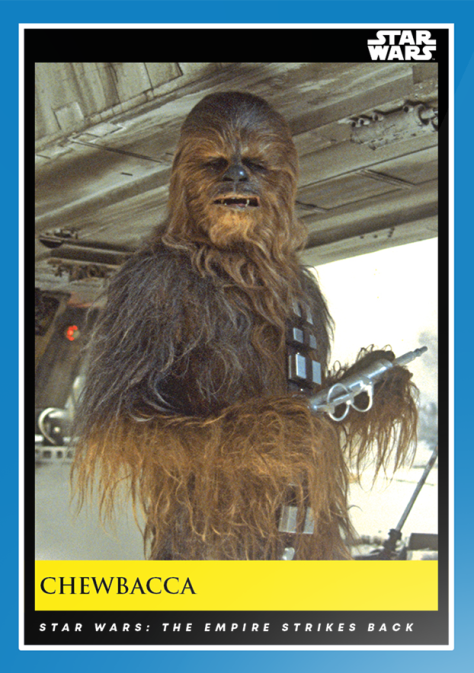 Chewbacca _ Star Wars Galactic Moments Countdown to Episode 9 _ Week 10 Card 28