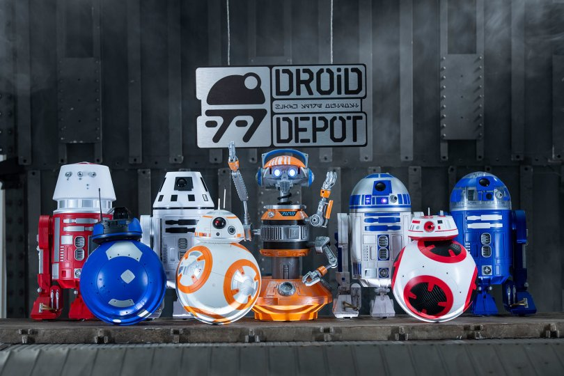 Droid Depot at Star Wars Galaxy's Edge