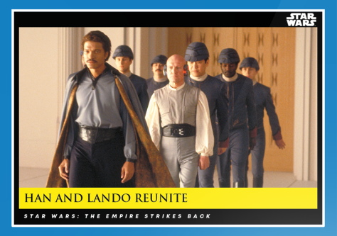 Han and Lando Reunite _ Star Wars Galactic Moments Countdown to Episode 9 _ Week 10 Card 29