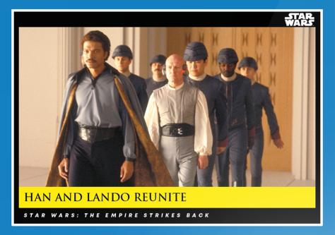 Han and Lando Reunite _ Star Wars Galactic Moments Countdown to Episode 9 _ Week 10 Card 29