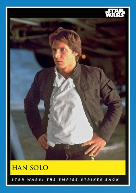 Han Solo _ Star Wars Galactic Moments Countdown to Episode 9 _ Week 7 Card 19