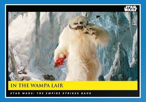 In The Wampa Lair _ Star Wars Galactic Moments Countdown to Episode 9 _ Week 7 Card 20