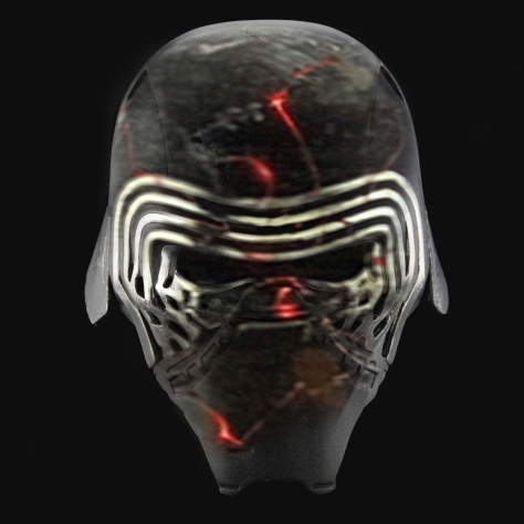 Kylo Ren New Red Mask Star Wars Episode IX