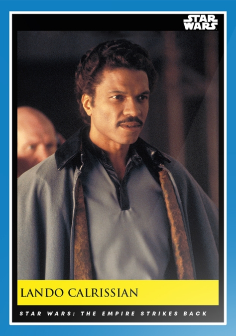 Lando Calrissian _ Star Wars Galactic Moments Countdown to Episode 9 _ Week 9 Card 25