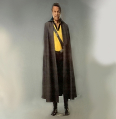 Lando Calrissian New Costume Star Wars Episode IX