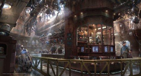 Mubo's Droid Depot at Star Wars Galaxy's Edge