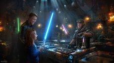 Savi's Lightsabre Workshop at Star Wars Galaxy's Edge