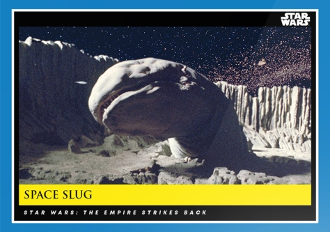 Space Slug _ Star Wars Galactic Moments Countdown to Episode 9 _ Week 9 Card 27