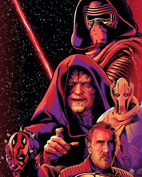 Star Wars Celebration Chicago Palpatine Key Art by Cristiano Siqueira