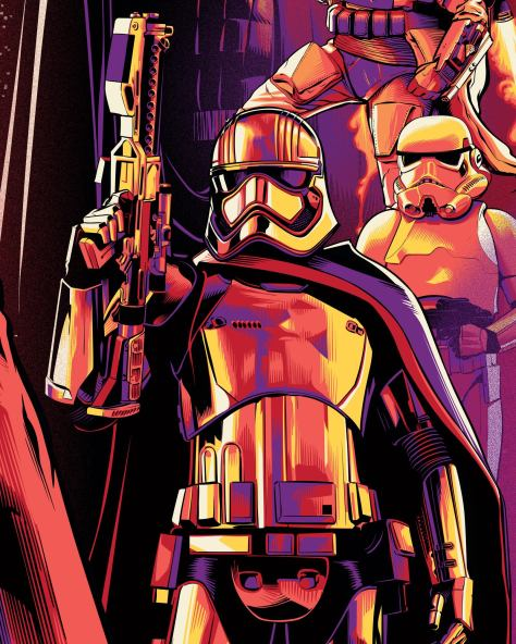 Star Wars Celebration Chicago Phasma Key Art by Cristiano Siqueira