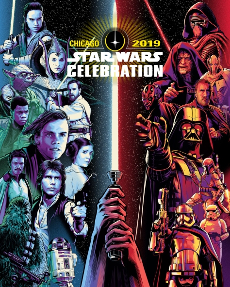 Star Wars Celebration Poster by Cristiano Siqueira