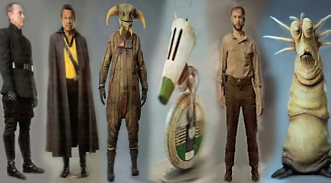 Star Wars Episode IX: New Character Concept Art and Reference Imagery Leaks Online!