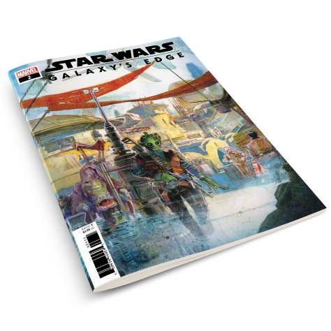Star Wars Galaxys Edge Marvel Adaption Issue 2 Cover MockUp 2
