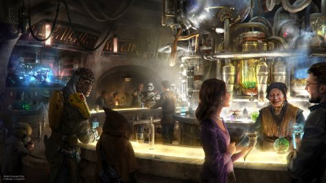 Star Wars Galaxy's Edge - Oga's Cantina