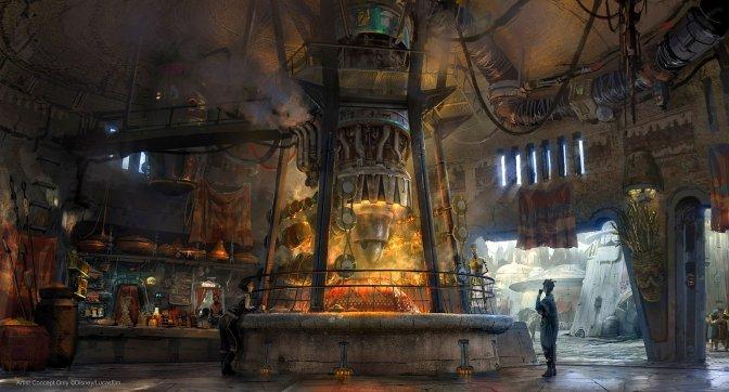 Star Wars: Galaxy's Edge – The Galactic Food