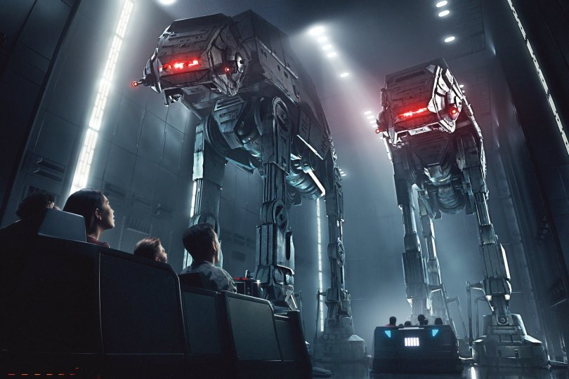 Star Wars Rise of the Resistance at Galaxy's Edge 2