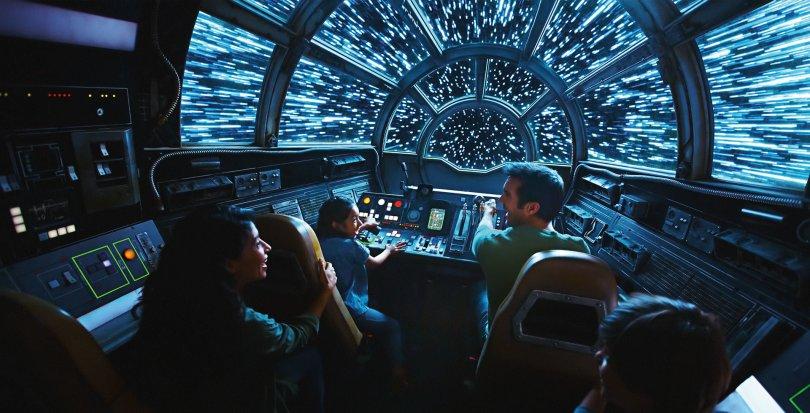 Star Wars Smugglers Run at Galaxy's Edge