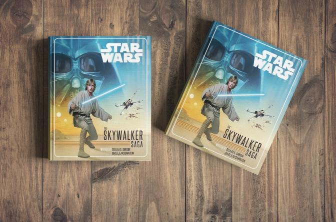 The Skywalker Saga Book by Delilah Dawson