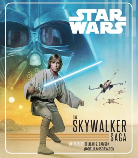 The Skywalker Saga Book Cover by Delilah Dawson