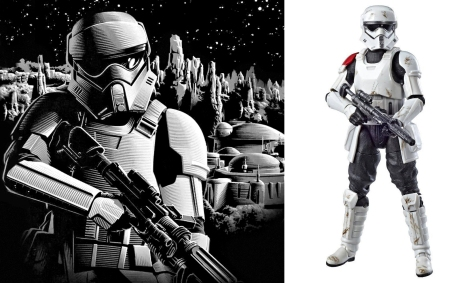 Mountain Trooper - Hasbro Black Series 6 Exclusive at Star Wars Galaxy's Edge