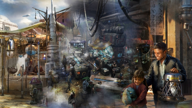 NEW! Star Wars: Galaxy's Edge – Concept Art
