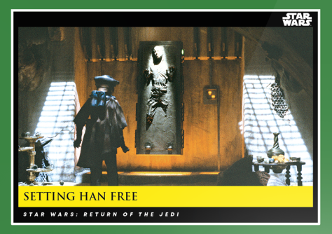 Setting Han Free _ Star Wars Galactic Moments Countdown to Episode 9 _ Week 13 Card 39