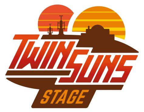 Star Wars Celebration Chicago 2019 - Twin Sun Stage Logo