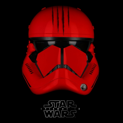 Star Wars Episode IX Elite Red Trooper Claw Version