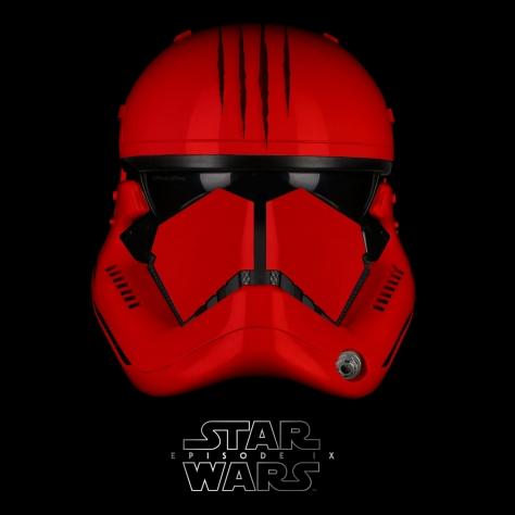 Star Wars Episode IX Elite Red Trooper Claw Version