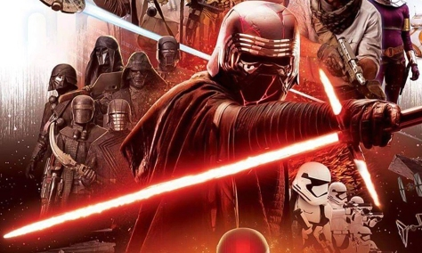 Star Wars Episode IX Official Teaser Banner with Kylo Ren and The Knights of Ren