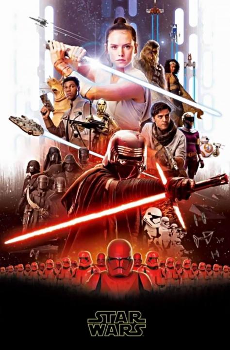 Star Wars Episode IX Official Teaser Poster Leaks Online