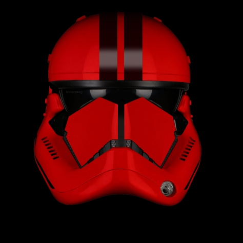 Star Wars Episode IX The Elite Red Trooper Concept 2 Stripe