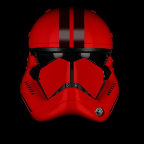 Star Wars Episode IX The Elite Red Trooper Concept 2 Stripe