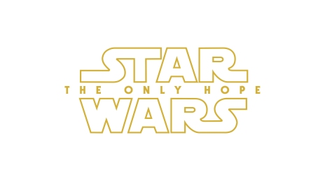 Star Wars Episode IX THE ONLY HOPE Possible Title Logo Hi Resolution HD