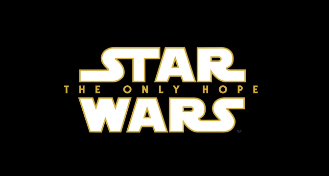 Star Wars Episode IX THE ONLY HOPE Title Logo Hi Resolution HD