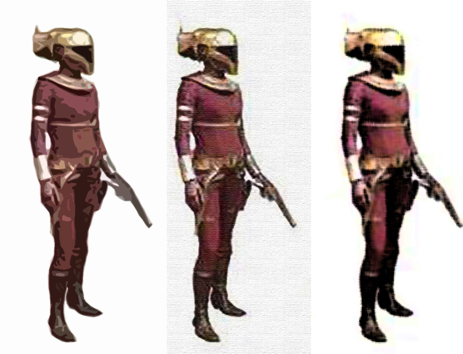 Zori The Bounty Hunter Played By Keri Russell Geek Carl