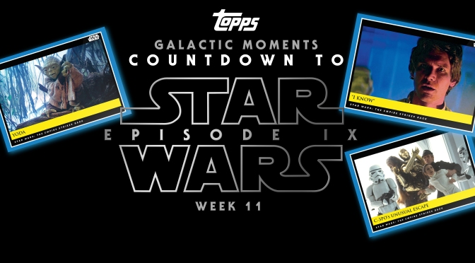 Topps : Star Wars Galactic Moments: Countdown to Episode IX : WEEK 11
