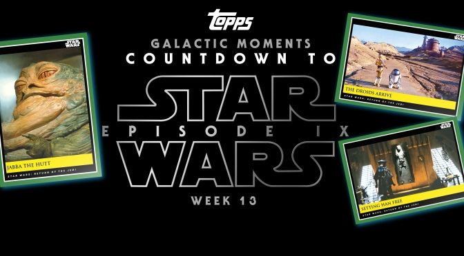 Topps : Star Wars Galactic Moments: Countdown to Episode IX : WEEK 13